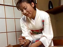 Hot Massage With the Asian Babe Megumi..