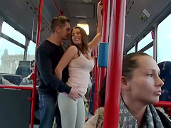 Blowjob In The Bus Before Hardcore..