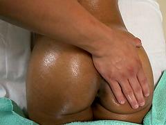 Sadie Santana licks a prick and takes..