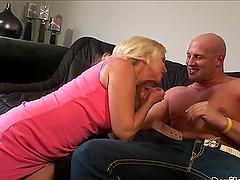 Annabelle Brady the horny granny gets..