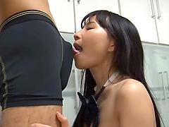 Yukina Narumi Asian the college girl..