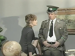 Vanessa Chase tempts a German spy and..