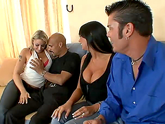 A Great Swinger's Foursome With Hot Babes