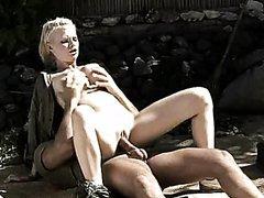 Horny Big Breasted Blonde Tarra White..