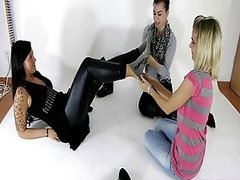 Three Kinky Babes Give Free Rein To..