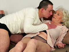 Norma the old bitch gets fucked by..