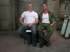 Prisoner Gets Tied and Tortured before..