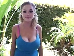 Katie Kox's Enormous Tits meet Big..