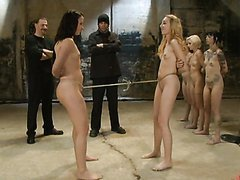 BDSM Experiment with Blonde and..