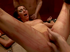 Princess Donna Dolore gets beaten and..