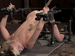 Sexy Ashley Jane gets whipped and..