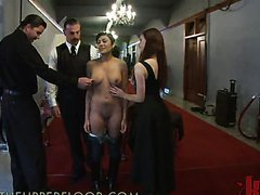 Hot Latina Gets Her First Try At Some..