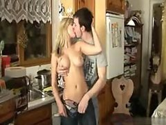 Incredibly Hot Busty Blonde Teen Gets..