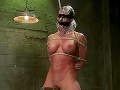 Two sexy bitches play BDSM games after..