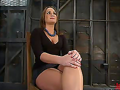Throat and Pussy Banging for Dominated..