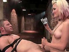 Kimberly Kane rides Wolf Hudson's cock..