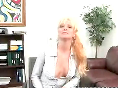 Bitch with pierced pussy gets fucking..