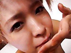 Cute Asian Teen Jun Harukawa Suck A..