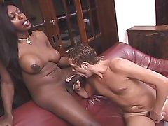 Stunning ebony shemale Suzanna Holmes..