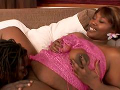 Ebony BBW Slut Decollecter Getting..