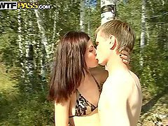 Horny Girl Getting Fucked In A Camping..