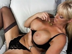 Busty MILF Kat Leevage Pounded Hard
