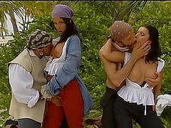 Sexy pirates Nikky Rider and Simonne..