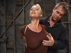 Bondage video with busty Devon Lee..