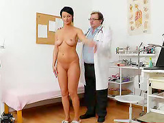 Gorgeous milf visits her doctor to get..