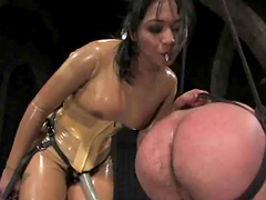 Mika Tan humiliates a man before..