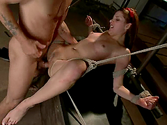 Sweet Evilyn Fierce gets bounded and..
