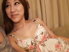 Sexy Asian Gal Fucks Like A Wild Woman