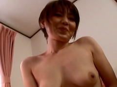Cute Japanese Blowing Cock And Fucking..