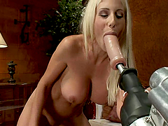 Amazing Swedish blonde MILF gets..