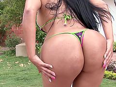 Latina with Big Juicy Butt Having Sex..