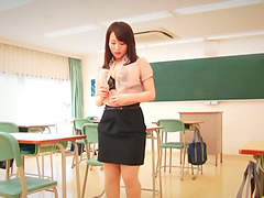 Asian Hoe In Miniskirt Is Ready For..
