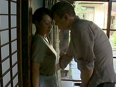 Japanese Housewife Seduced By Horny..