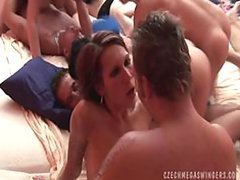 Cock-Hungry Sluts Share Everything In..