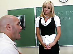 Hot Teacher Mrs. Lynn Gets A Hardcore..