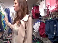 Horny Japanese Whore With Panties..