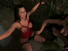 Eva Angelina gets poked in her twat..