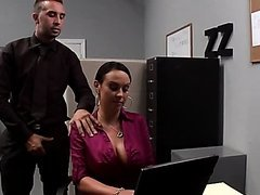 Huge Office Slut Mariah Milano Gets..