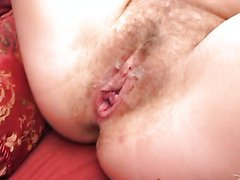 Busty Blonde With A Hairy Pussy Gets A..
