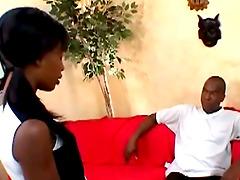 Gifted Black Bro And His Ebony Babe..