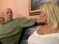 Busty MILF Juliana Jolene Giving Head..