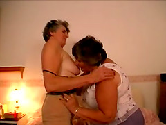 Big Busty Woman And Her Granny Friend..