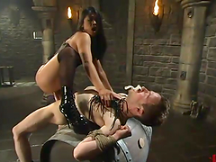 Sexy Mika Tan whips the guy and rides..