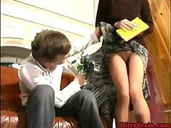 Horny Mature Private Teacher Gets..