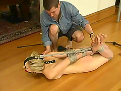 Bondage video with Chanta-Rose getting..