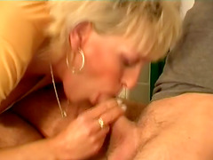Cum In Mouth Is What This Mature..
